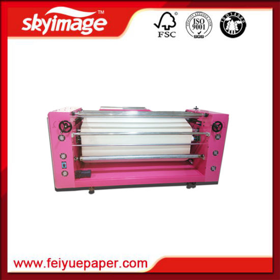 Roll to Roll Heat Press Machine 420*2600mm for High Speed Printing