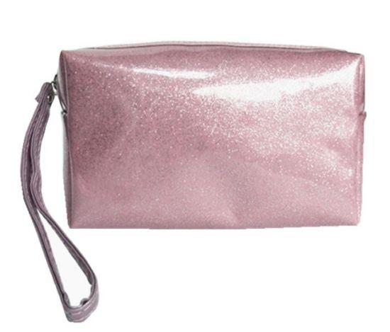Multi-Functional Waterproof PU Candy Color Cosmetic Bag