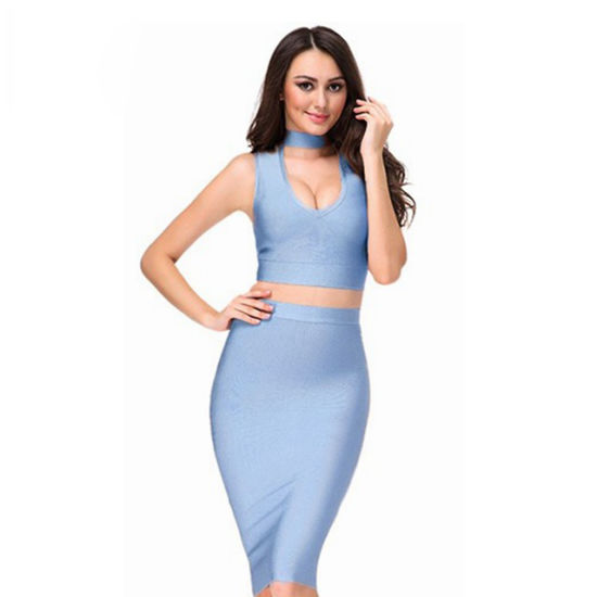 2018 Summer Bodycon Dress Women Sexy Deep V Neck Two Piece Wholesale Dress  Party Dresses Celebrity Dress Club Wear. Get Latest Price 4f3275ad2