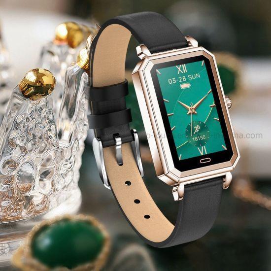 IP68 Waterproof Sleep Heart Rate Monitoring Sport Watch Smart Bracelet with Pill Reminder HT2