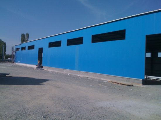 Fabricated Steel Structure Workshop (SSW-579)