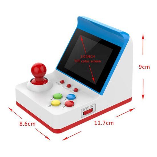 2020 Latest 8 Bit Portable 3.0 Inch Display Retro Mini Arcade FC Handheld Game Console Machine Built-in 360 Classic Games