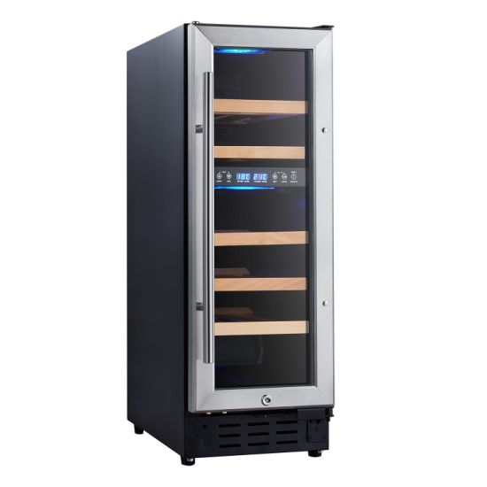 Made in China 62L Dual Zone Fan Cooling Wine Cellar