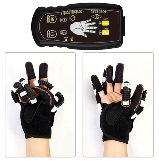 Physical Therapy Stroke Recovery Robotic Hand Gloves Recovery Equipment