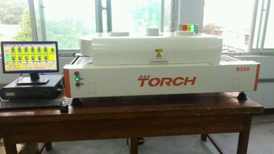 Torch IGBT Worldwide Min Heating Zone Desk Six Temperature Zone Welding Reflow Oven pictures & photos