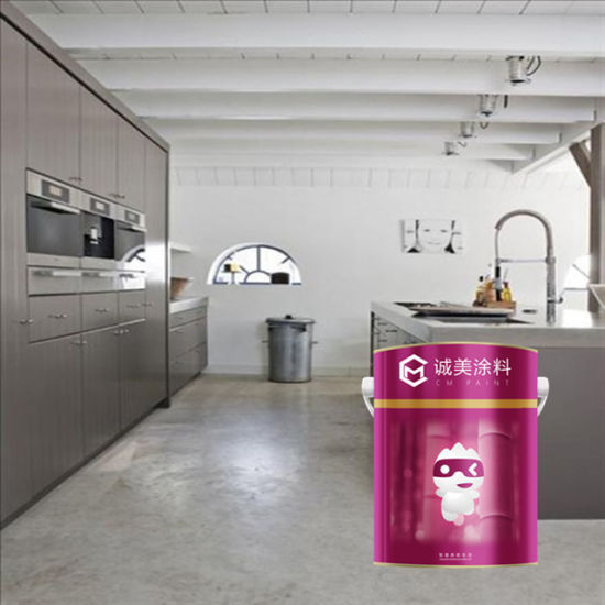 China High Gloss Stone Hard Epoxy Floor Paint Price Concrete