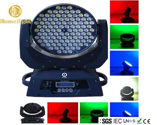 DMX RGBW 108PCS LED Shake Shook Moving Head Light