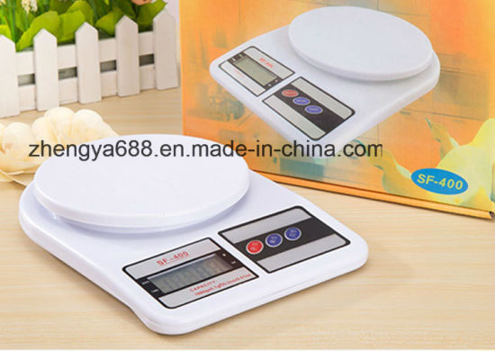 High Quality Household Weight Electronic Kitchen Scale Sf400