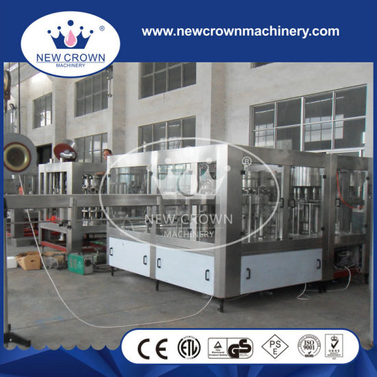 Automatic Carbonated Beverage Bottle Filling Machine (YFDY32-32-10) pictures & photos