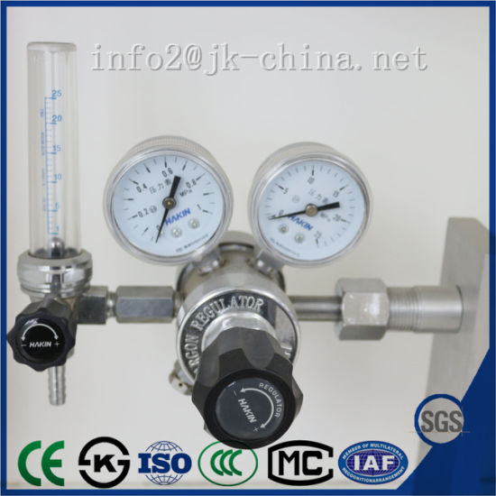 Hot Sales and High Quality Double Pole Flowmeter Type Reducer Regulator pictures & photos