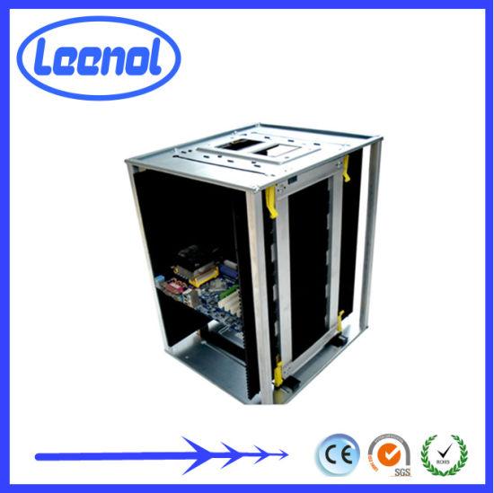 Ln-C807 SMT Antistatic ESD Magazine Rack Anti Static PCB Storage Holder