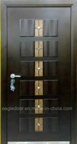 China Top Selling Armored Steel Wooden Door Best Italian Steel