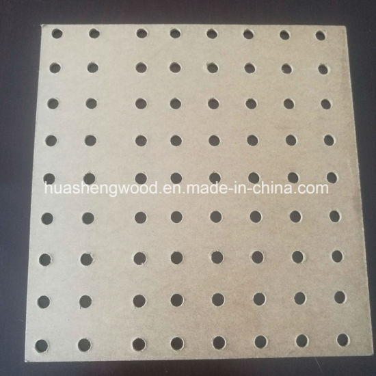 Pegboard MDF /Perforated MDF /MDF with Holes pictures & photos