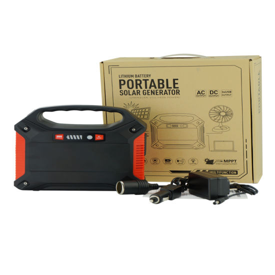 Lithium Polymer Battery Home Backup Power System Portable Solar Generator