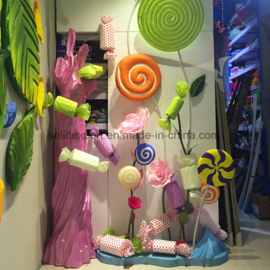 Festival Decoration Candy Christmas Shopping Mall Scene Setup Decoration pictures & photos