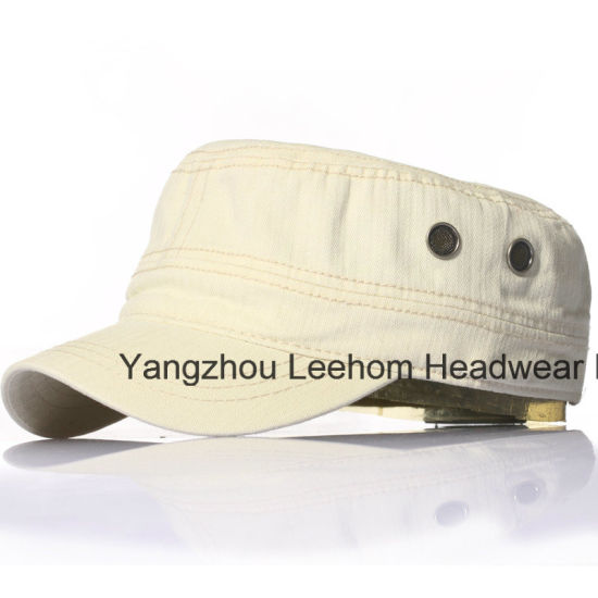 Wholesale Military Army Slub Cotton Fitted Cap Hat pictures & photos
