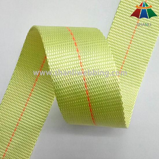 6cm High Tenacity Polyester Webbing, Safety Webbing