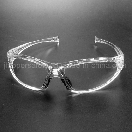 Sport Type Clear Polycarbonate Lens Safety Eyewear (SG117)