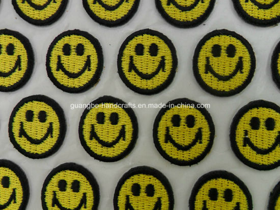 Promotional Souvenir Gift Embroidered Patches Selfadhesive Embroidery Badge Sticker pictures & photos