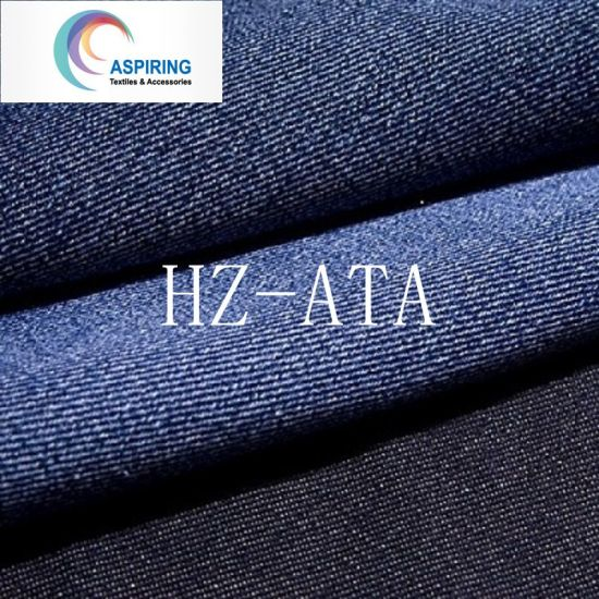 100% Cotton 8oz Denim Fabric for Work Jean pictures & photos