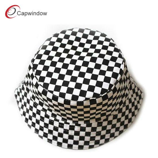 bc1bd613498 China Women′s Fashion Grid Fisherman Bucket Hat (15009) - China ...