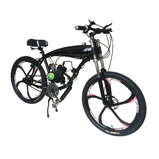 China 2.4L Gas Frame 26inch Mag Wheel Motorized Bicycle, Fuel ...