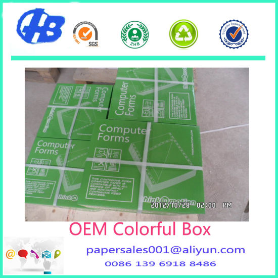 4-Ply Continuous Carbonless Printing Paper