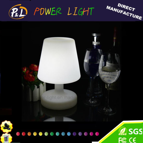 16 Color-Changing Illuminated Decoration Glow LED Table Lamp pictures & photos