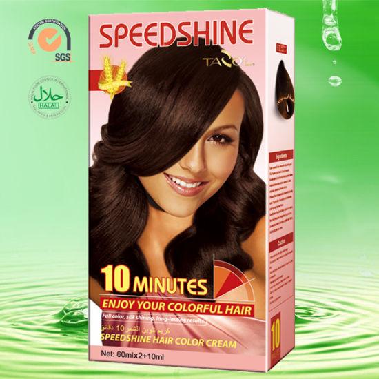 New Tazol Speedshine Hair Color Cream