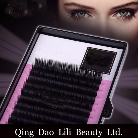 5d3c20b3521 High Quality Mink Lash L Curl Eyelash Extension pictures & photos