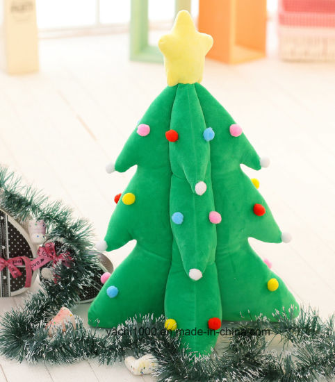 Custom Plush Stuffed Decoration Toy Christmas Tree pictures & photos