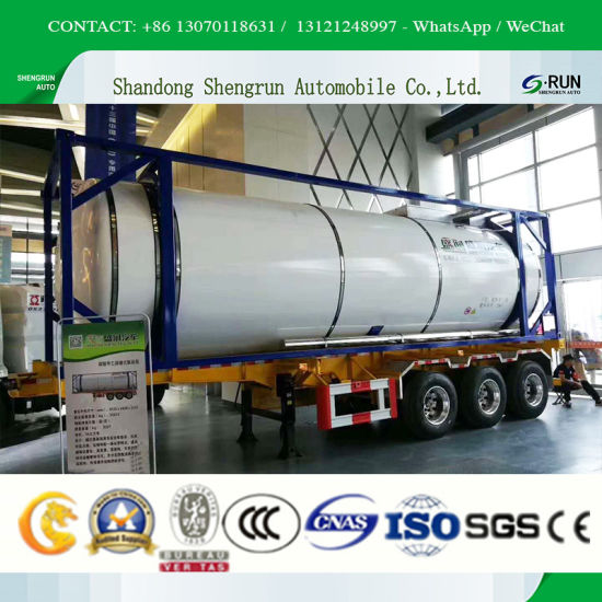 China High Quality Fuel Storage Tank Container Oil Storage