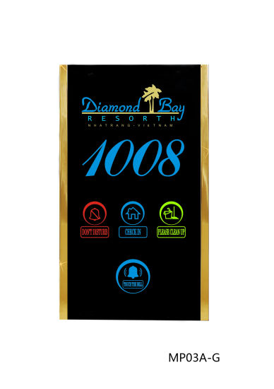 Six-in-One Digital Doorplate with LED Screen pictures & photos