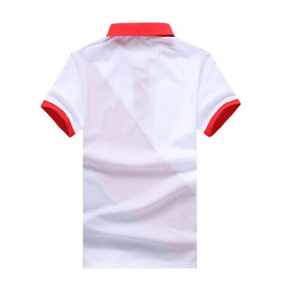 bfab5959d China Wholesale Contrast Color Plain Polo Shirt for Promotion ...