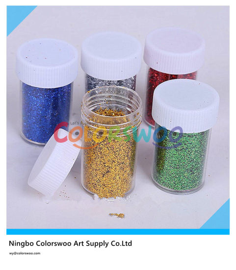 China 12 11g Glitter Powder For Art And