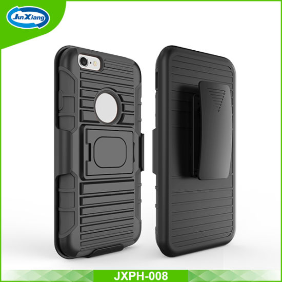 New Arrival Heavy Duty Robot Armor Combo Cell Phone Case for iPhone 6 pictures & photos