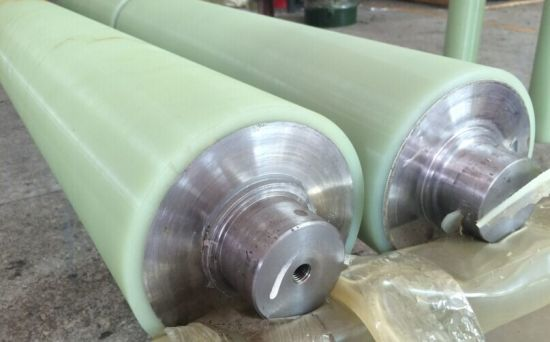 Abrasion Resisant Polyurethane Roller PU Roller Urethane Covered Roller Rubber Covered Roller Transmission Roller pictures & photos