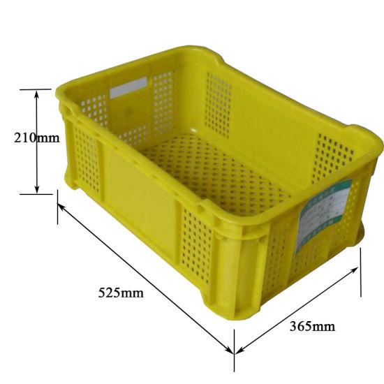 Foldable Plastic Turnover Baskets