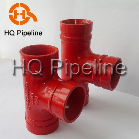 UL/FM Ductile Iron Grooved Fittings and Grooved Couplings pictures & photos