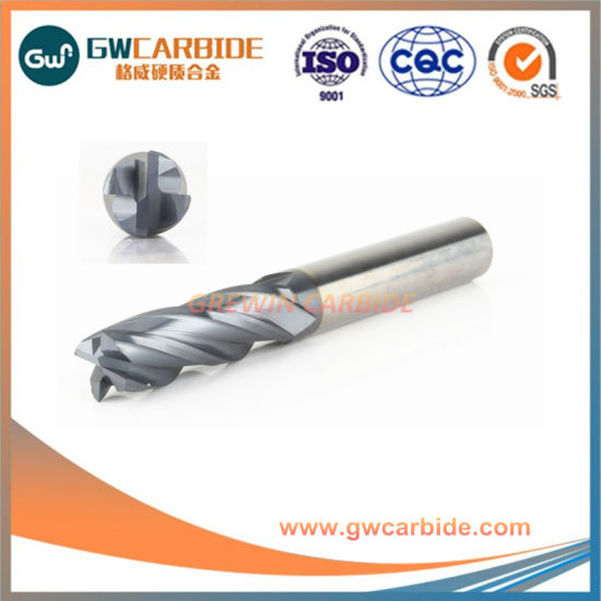 Grewin SGS Milling Machine Tools Tungsten Carbide End Mill pictures & photos