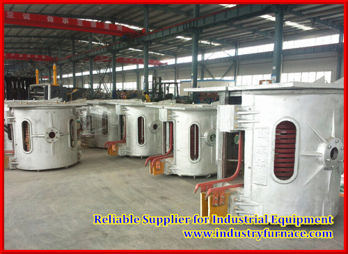 2 Tons Capacity of Casting Furnace for Industry Foundry