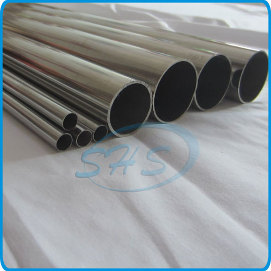 Stainless Steel Welded Round Tubes for Handrails pictures & photos