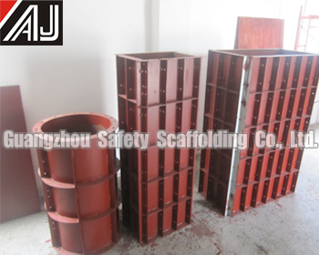 Steel Concrete Formwork for Column Construction