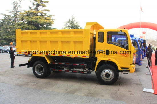 266HP Sinotruk HOWO 4 X 2 Tipper Truck pictures & photos