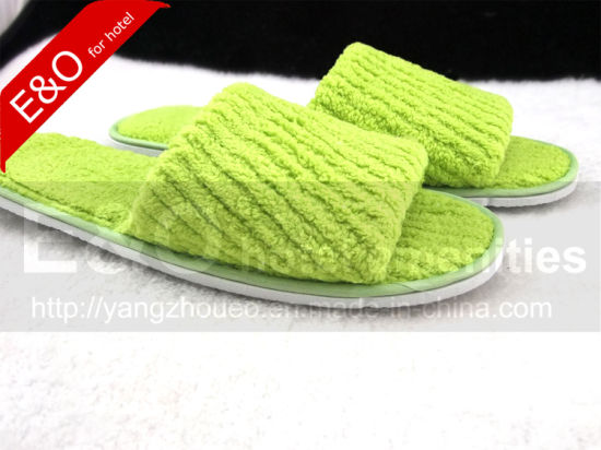 Hotel High Quality Soft Plush Slippers for 5 Stars Hotel