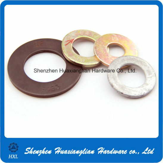 Stainless Steel Galvanized or Brass Industrial Machine Flat Washer pictures & photos