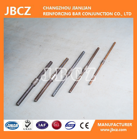 Upset Forging Parallel Thread Rebar Coupler pictures & photos