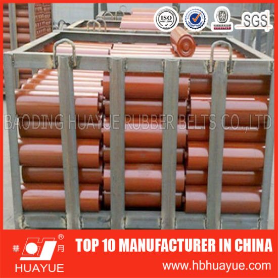 DIN Standard Belt Conveyor Idler Roller for Mining Use pictures & photos