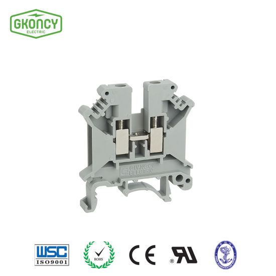 Jwd 4mm2 Universal Screw Dinrail Connectors UL94 V-0 (Jwd1-4)