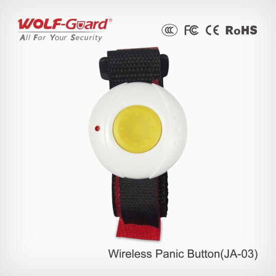 Ja 03 Elderly Children Safety Wristband Alarm Push On Bracelet
